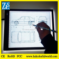 Acrylic A4 Size LED Light Table Tracing LED Light Box GGE Battery Powered LED Artcraft Light Box