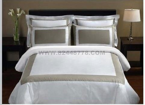 2011 new style hotel bedding set,hotel flat sheet ,hotel fitted sheet , hotel bed linen