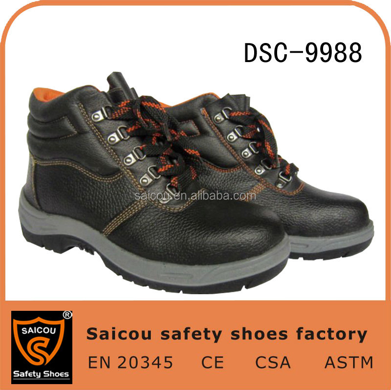 2015 cheap industrial safety shoes and leather unisex safety shoes and hiker safety shoes Guangzhou factory SC-8877