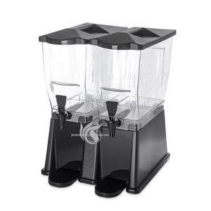 Commercial Used Cold Drink Two Tank Juice Dispenser
