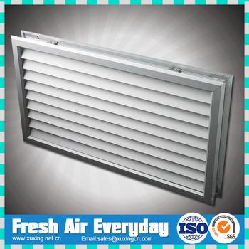 Anodized Aluminum Return Air Door Ventilation Grille For