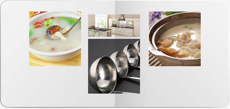 Bestseller Produkte Suppenküche verschiedene Arten von Schöpflöffel Löffel