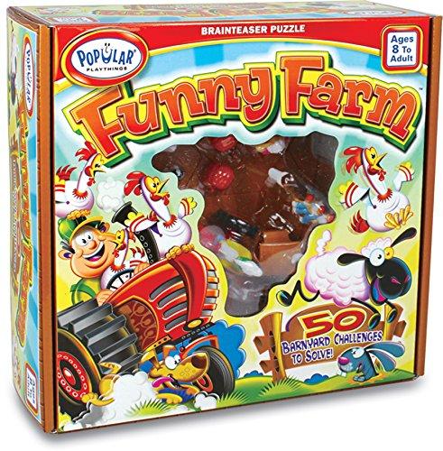 Popular Playthings Funny Farm Brainteaser Puzzle