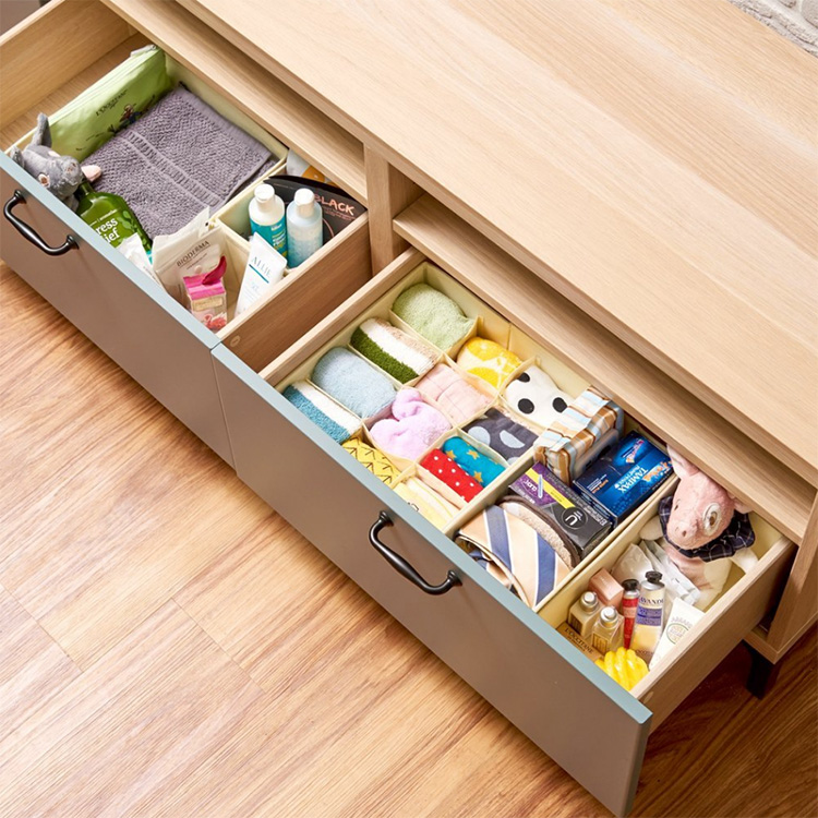 Fancy Foldable Mini Storage Box Storage Drawer Chest Box for Home Organizing