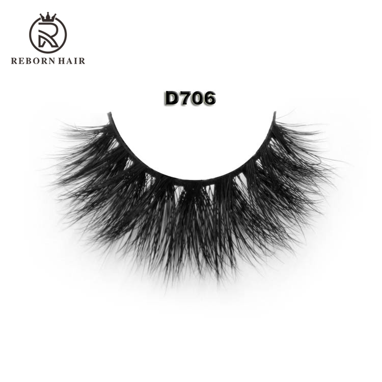 OEM wholesale hand made waterproof 3d mink eyelash extensions high quality strip lashes waterproof false eyelashes
