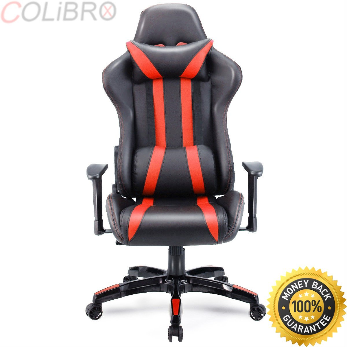 COLIBROX--Executive Racing Style High Back Reclining Chair Gaming Chair Office Computer. executive racing style high back reclining chair gaming chair office computer.racing style gaming chair.