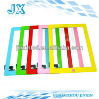 Factory new quality oem colored lcd frame for ipad 3