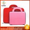 Durable Colorful PU hard laptop sided case with handle