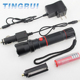 Plastic usb rechargeable wide angle led flashlight with 1 LED For Promotion