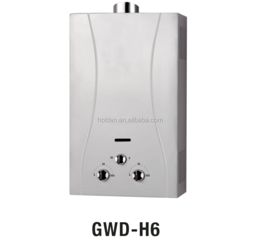 Gwd h6 junkers calentador de agua de gas manual sin tanque for Calentador de agua junkers