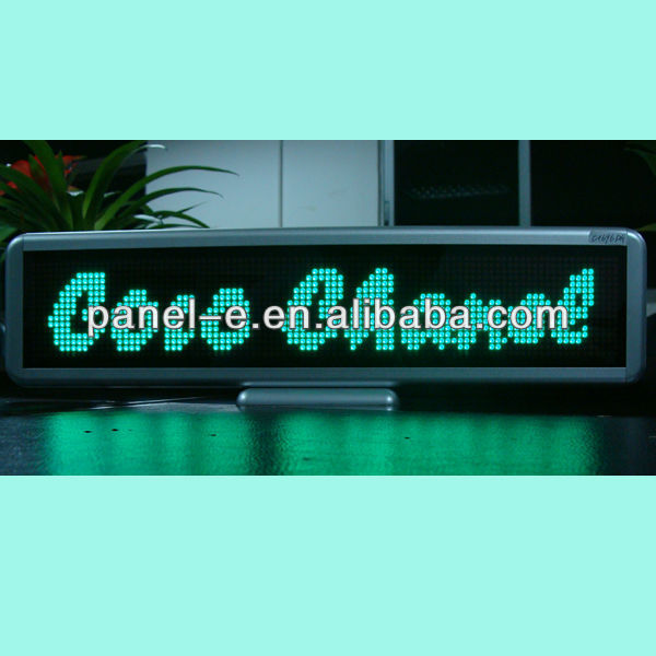 Small led display advertising tool,strong promotion effect,tri-color optional
