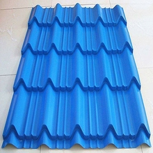 Mobile house roof material , color roofing sheet, wave metal roof for container homes