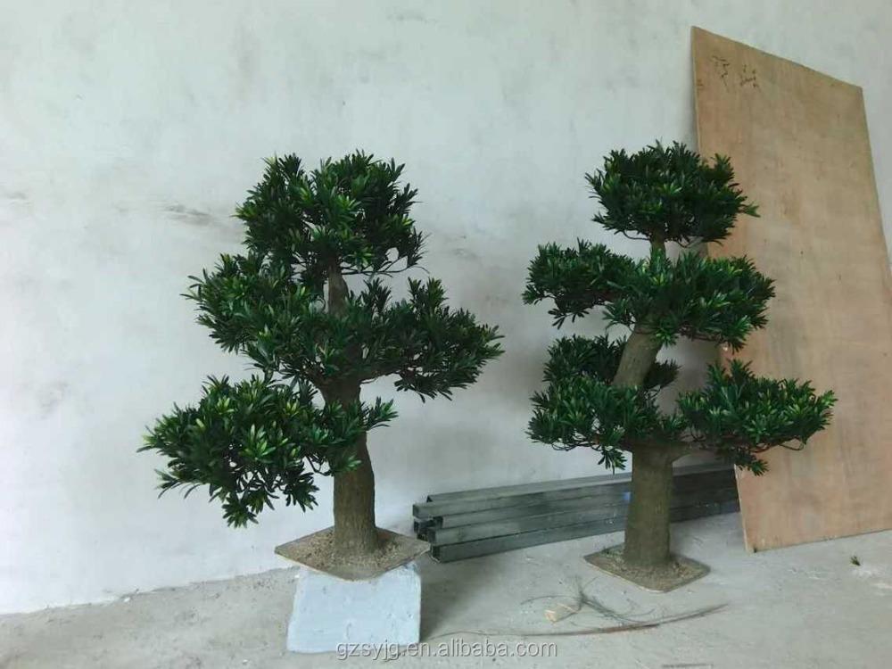 comercio al por mayor pequeo decorativo de plstico plantas rbol falso artificial de rboles de