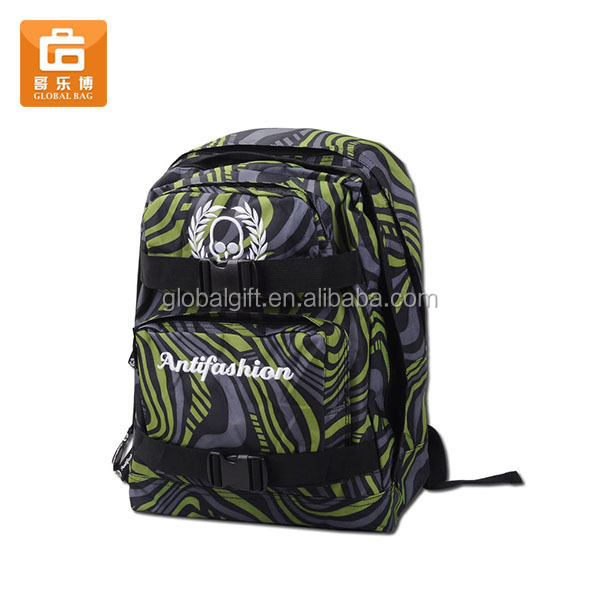 Multi-functional Skateboard School Backpack Bag