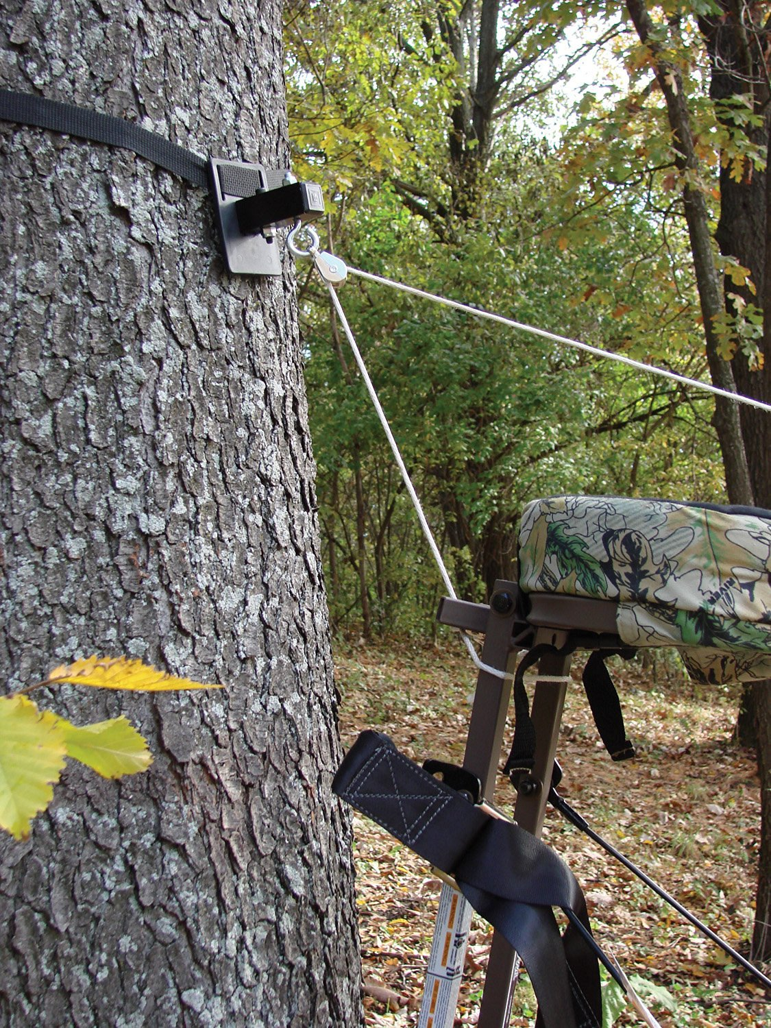 Pine Ridge Archery E/Z Up Tree Stand Pulley System