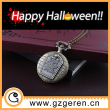 Treat or trick festival gift nightmare theme retro watch vintage pocket watch for brave person