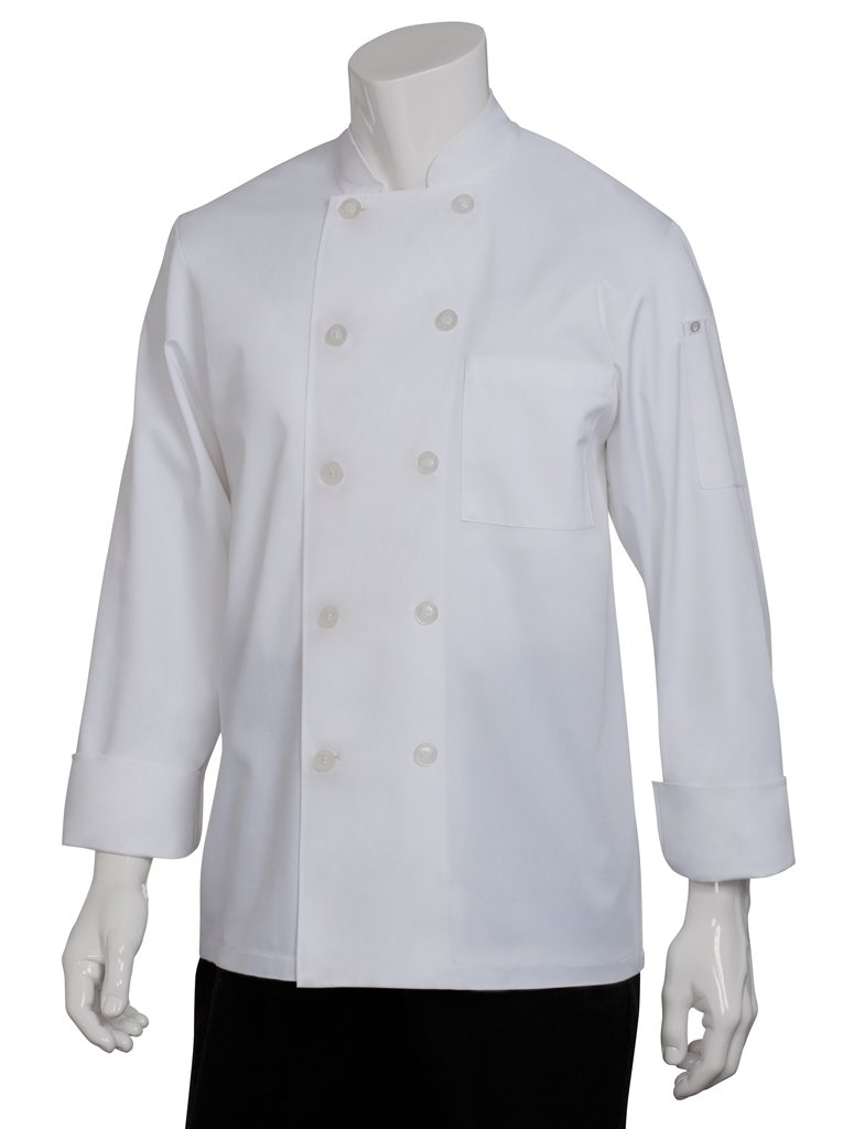 Chef Works Men's Le Mans Chef Coat