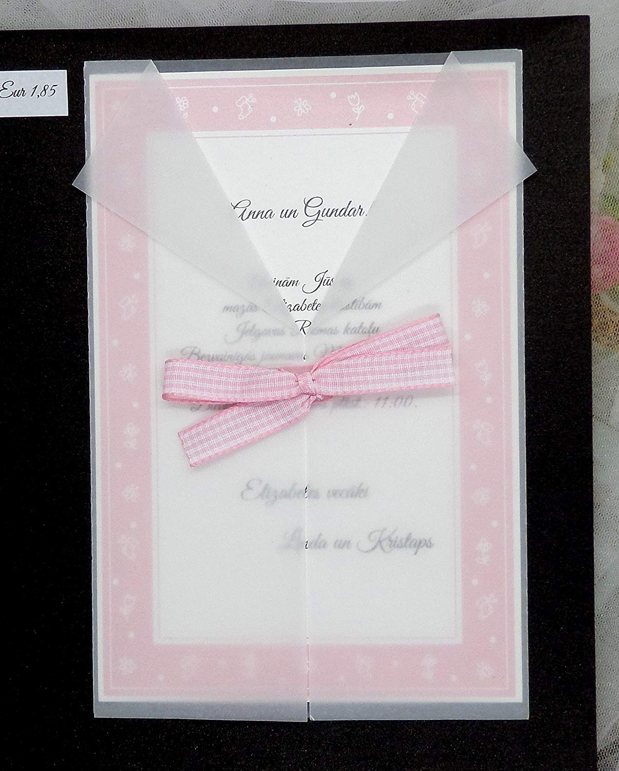ea6a56f28a6 Get Quotations · Christening invitation suite
