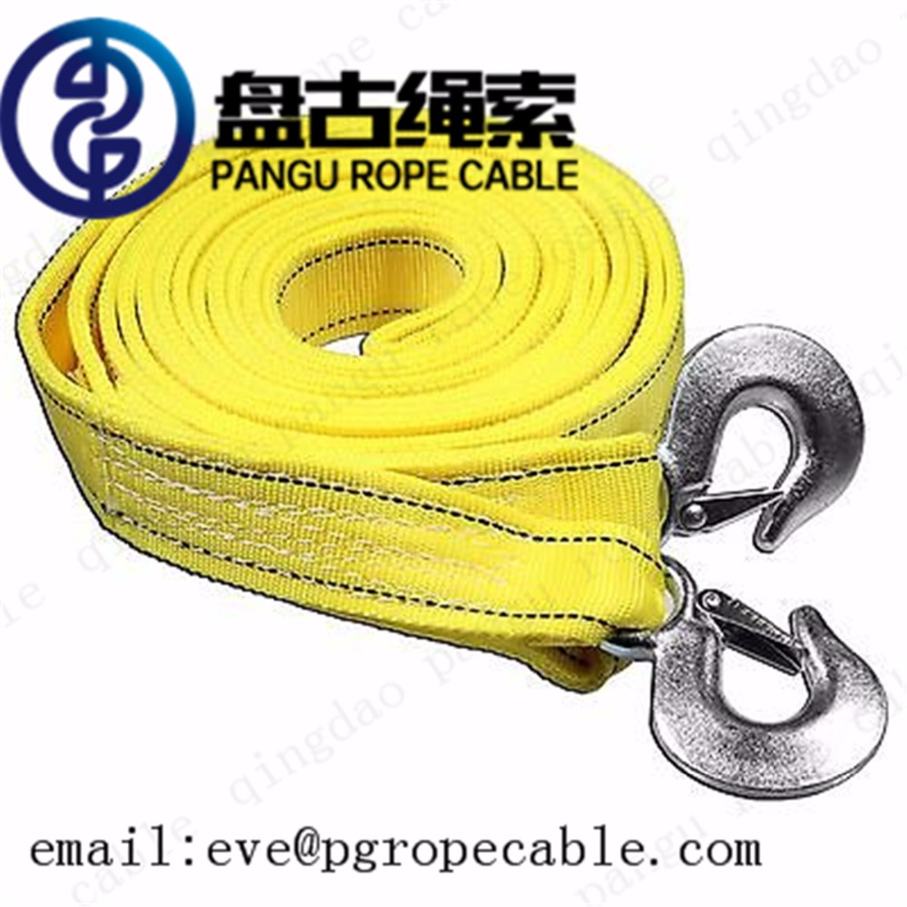 pangu Towing Strap Type and CE GS ISO9001 Certification Vehicle emergency tool Car towing strap Heavy Duty Recovery Tow Strap