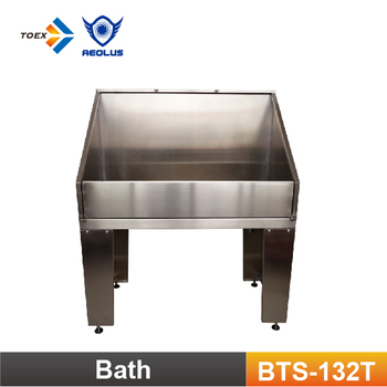 BTS 132T Large Size Stainless Steel Pet Grooming Tub Dog Bathtubs