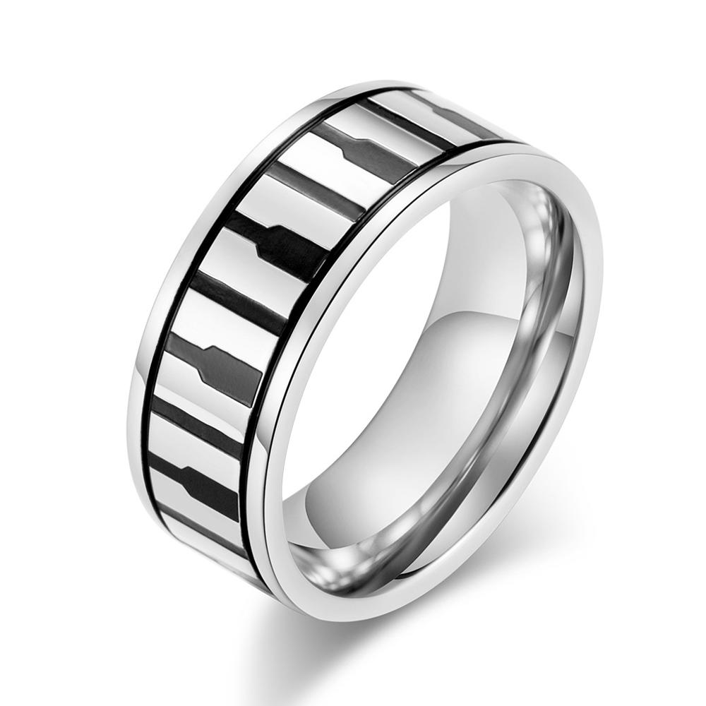 View Larger Image Elegant Black Piano Rings