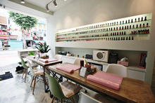 Latest Nail Beauty Salon Interior Decoration Suppliers And At Alibabacom With Photo