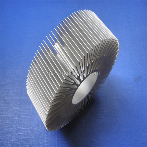 2016 professional design hot selling extruded aluminum alloy metal heatsink with factory price
