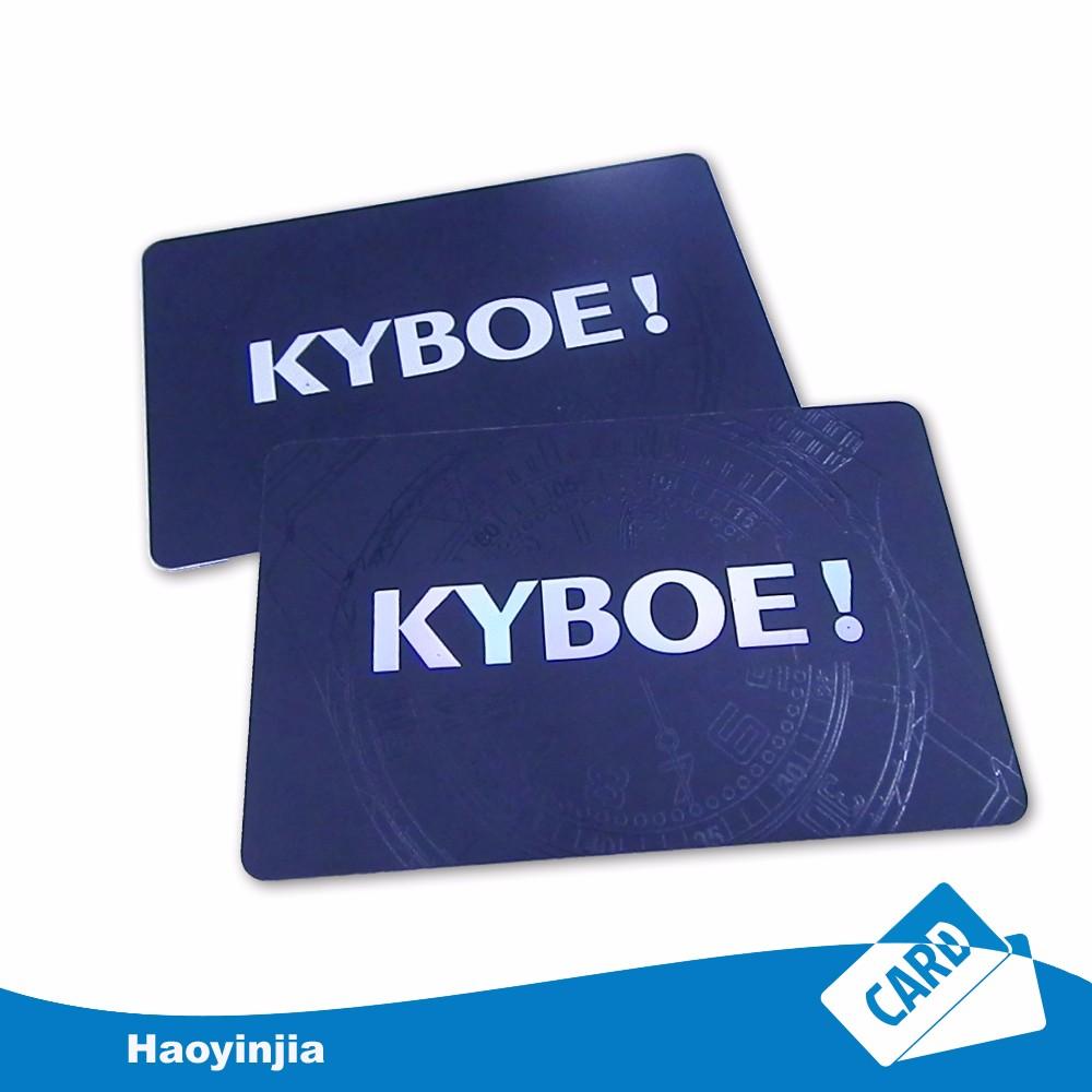 4 Color Cmyk Printed Gold Silver Foil Business Card - Buy Color ...