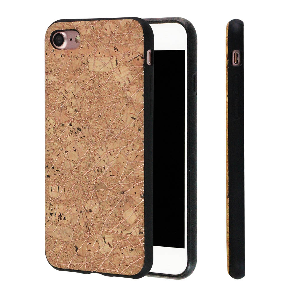 Hot Selling TPU Custom Cork Wooden Case Eco Friendly Cell Phone Accessories