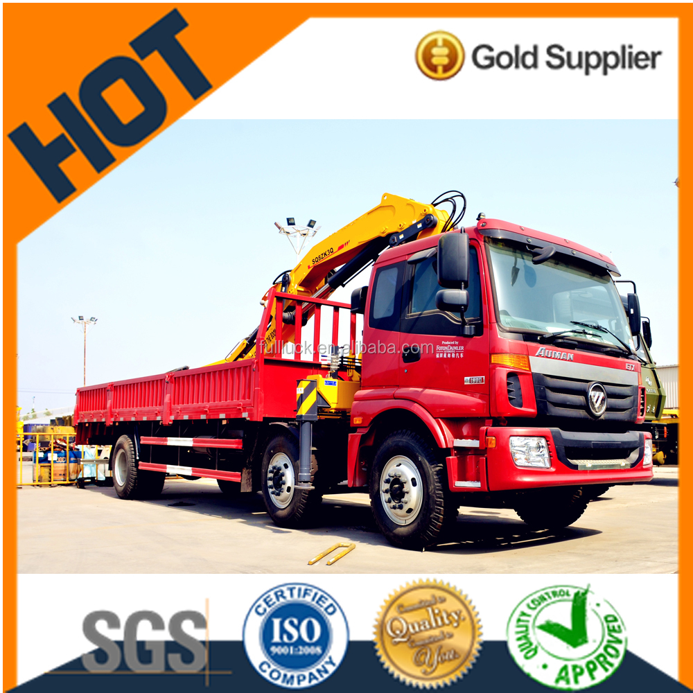 Truck crane SQ8ZK3Q with 8tons Max lifting capacity conventional truck crane