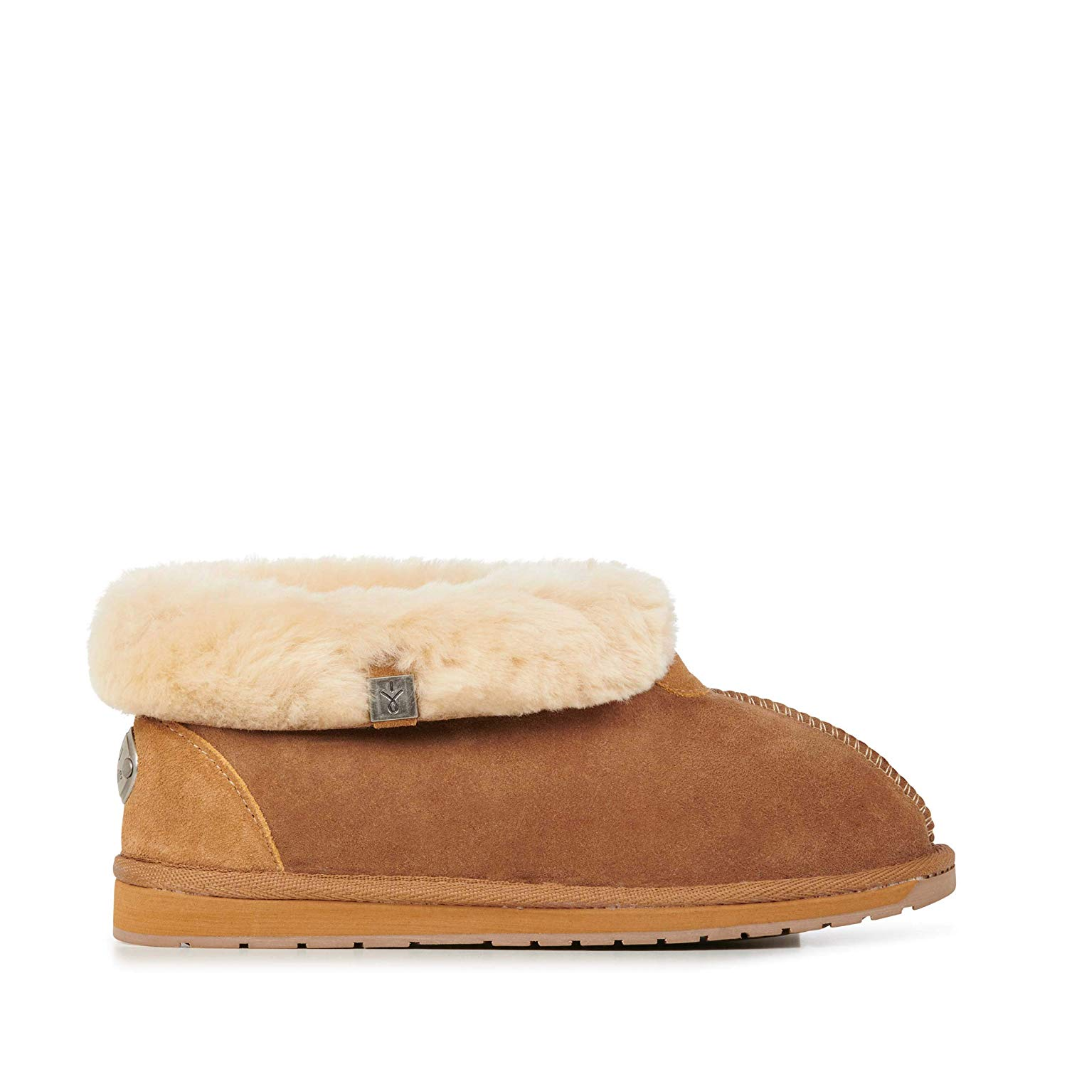 d5352bce98 Get Quotations · EMU Australia Womens Slippers Platinum Albany Sheepskin  Slipper