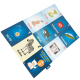 children educational playing cards kids board game learning cards