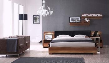 Modern Bedroom Furniture 2014 2014 new design modern bedroom furniture set was made from e1