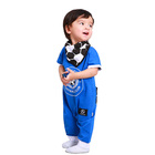 Fashion cool boys wear football printing pocket infant clothing with bibs