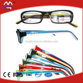 Anime Glasses Frame Nice For Baby Acetate Eyewear Optical Eyeglasses