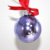 Shopping Mall Merry Christmas Christmas Decorations Personalized Christmas Ornaments 8cm Glass Ball