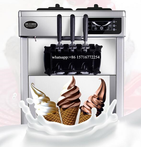 Goshen Yogurt Soft Ice Cream Maker Commercial Ice Cream Machine With Competitive Price