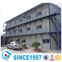 Cheap prefabricated steel structure house for dormitory