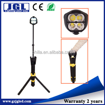 2016 New 20w Outdoor Sports Lighting Portable Tripod Remote Area Led Camping Light Stand