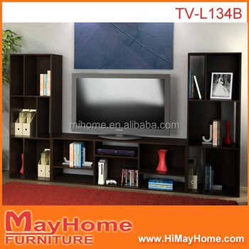 Low Price Simple Design Wooden Tv Table With Showcase Buy Design