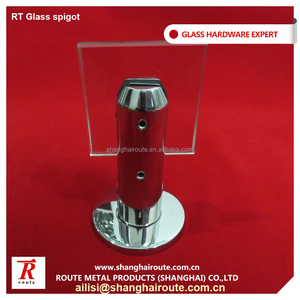 Professional hardware manufacturer 316L solid round spigot with base plate