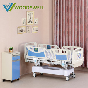 Electric Five Function Intensive Care ICU Hospital Bed