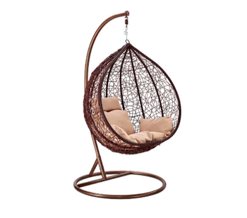 2018 Price Hanging Hammock Patio Indoor Wicker Rattan Swing Chair With Stand Garden Product On