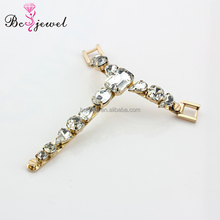 XL002 Hot selling New Fashion Women Newest Rhinestone crystal shoes chain accessories shoe decoration jewelry