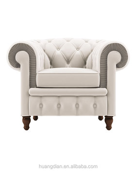 Awesome French Style Living Room Furniture White Roll Arms Chesterfield Leather Single Sofa Buy Chesterfield Sofa Furniture Sofa Leather Sofa Product On Pabps2019 Chair Design Images Pabps2019Com