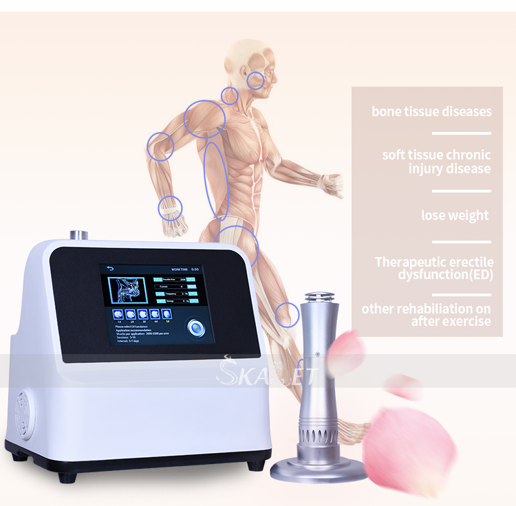 Schmerzbehandlung Erectile Ed Shockwave Therapy / Shockwave Therapy Machine für Ed