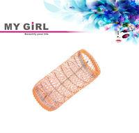 MY GIRL Big Plastic Pins Mesh Hair Roller Types