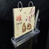 multi function acrylic calendar with pen