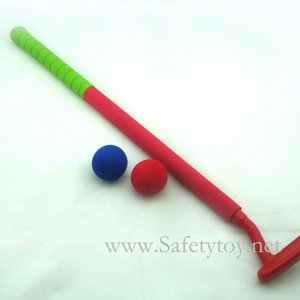 plastic golf toy children gifts mini golf presents safety products rubber foam childrens day gift
