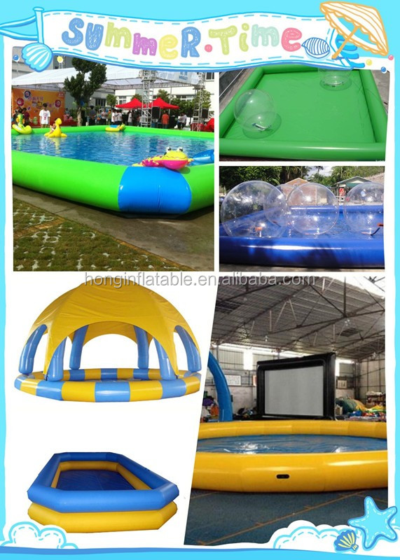 Low price large adults inflatable swimming pool inflatable for Large size inflatable swimming pool